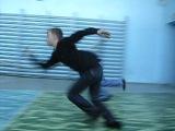 Физкультура. Челночный бег. Роман Кабитенко VS Евгений Вострецов. (9 класс)